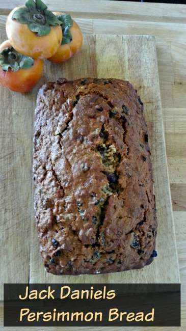 Jack Daniels Persimmon Bread