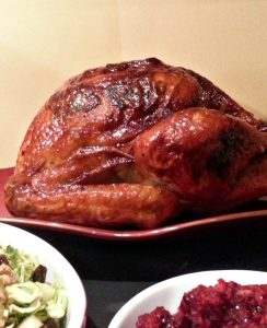 Maple Glazed Turkey with Whiskey Maple Gravy