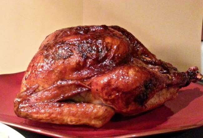 Maple Glazed Turkey with Whiskey Maple Gravy