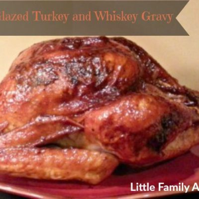 Maple Glazed Turkey and Whiskey Gravy