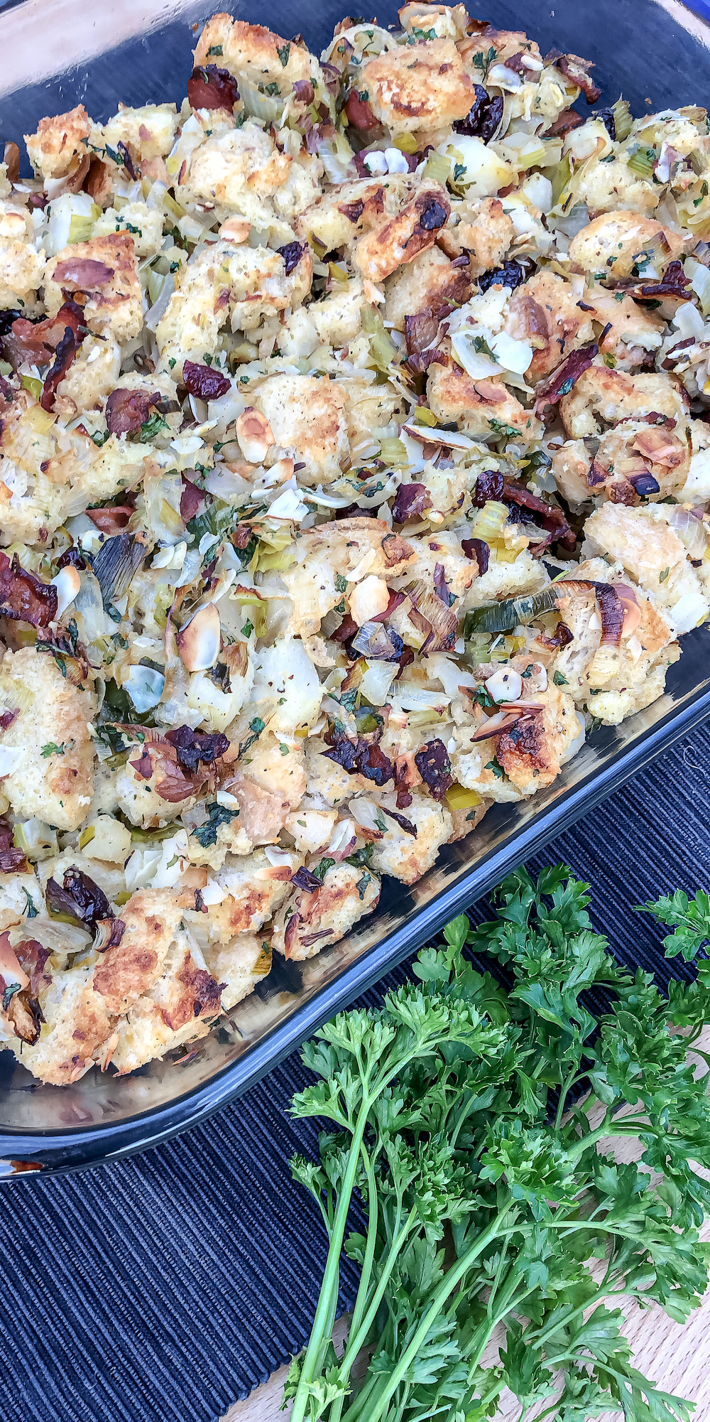 bacon and sourdough stuffing