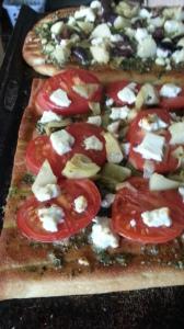 Flatbread Greek Pizzas