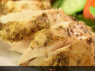 Lemon Thyme Crockpot Chicken