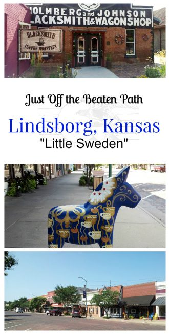 "Just Off the Beaten Path is Lindsborg, Kansas aka ""Little Sweden"""