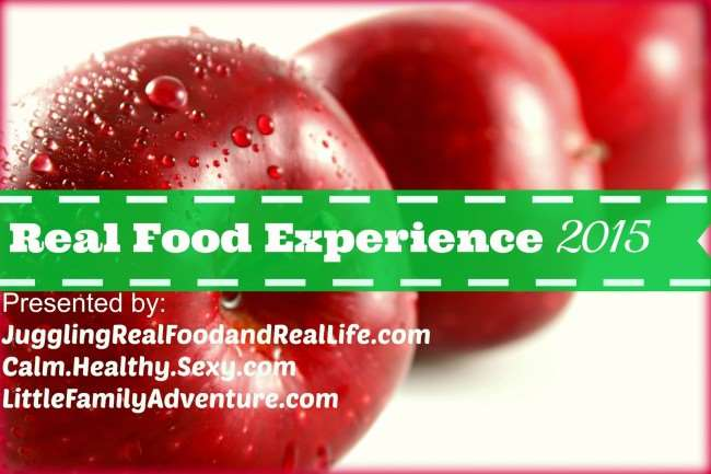 Real Food Experience - A Weekly challenge to help you eat better and live healthier