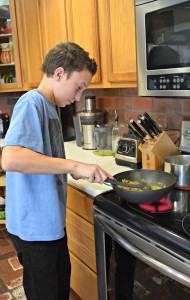 Get the family involved in the kitchen