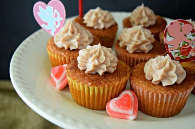 Apple Churro Cupcakes