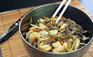 Quick and Easy Yakisoba Little Family Adventure   This is healthy fast food!