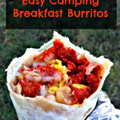 Easy Camping Breakfast Burritos