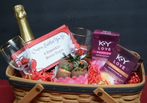 Create a Love Themed Valentine Basket and Have a Fun Date Night In With K-Y® Love #LoveOurVDay #Ad #cbias @Target