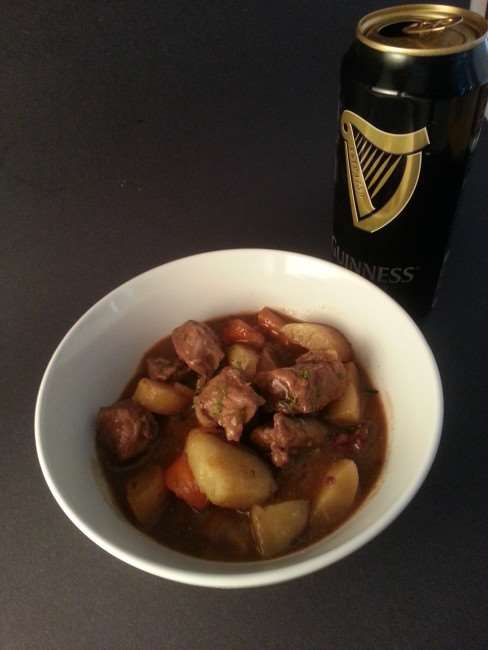 Guinness Stew - A hearty and delicious stew featuring beef, root vegetables, and Guinness Stout