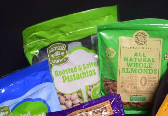 Healthy Travel Snacks - Roasted Nuts