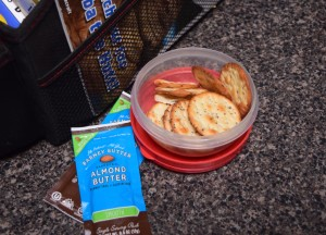 Healthy Travel Snacks - Crackers