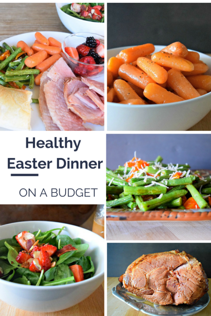 Healthy Easter Meal on a Budget - Healthy Easter Dinner on a Budget - Create a Healthy meal for 12 for under $6 pp with ALDI