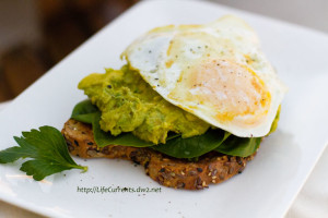 26 Camping Breakfast Recipes: Avocado Miso Toast