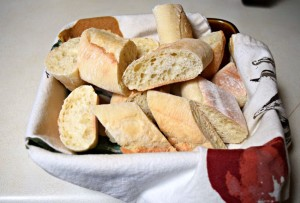 Baguette for Easter Meal Healthy Easter Meal on a Budget - Create a Healthy meal for 12 for under $6 pp with ALDI