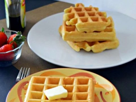 Mickey Waffles Without Refined Sugar