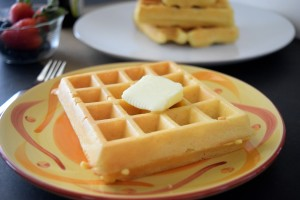 Disney's Mickey Waffle Recipe without refined sugar