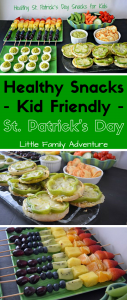 Celebrate St. Patrick's Day with Healthy Snacks that kids will love. We have the easy appetizer recipes for you, PLUS tips to save you money too! #ad