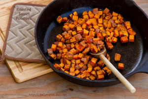 26 Camping Breakfast Recipes: Roasted Sweet Potatoes
