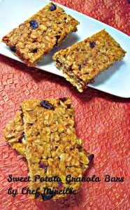 26 Camping Breakfast Recipes: Sweet Potato Granola Bars