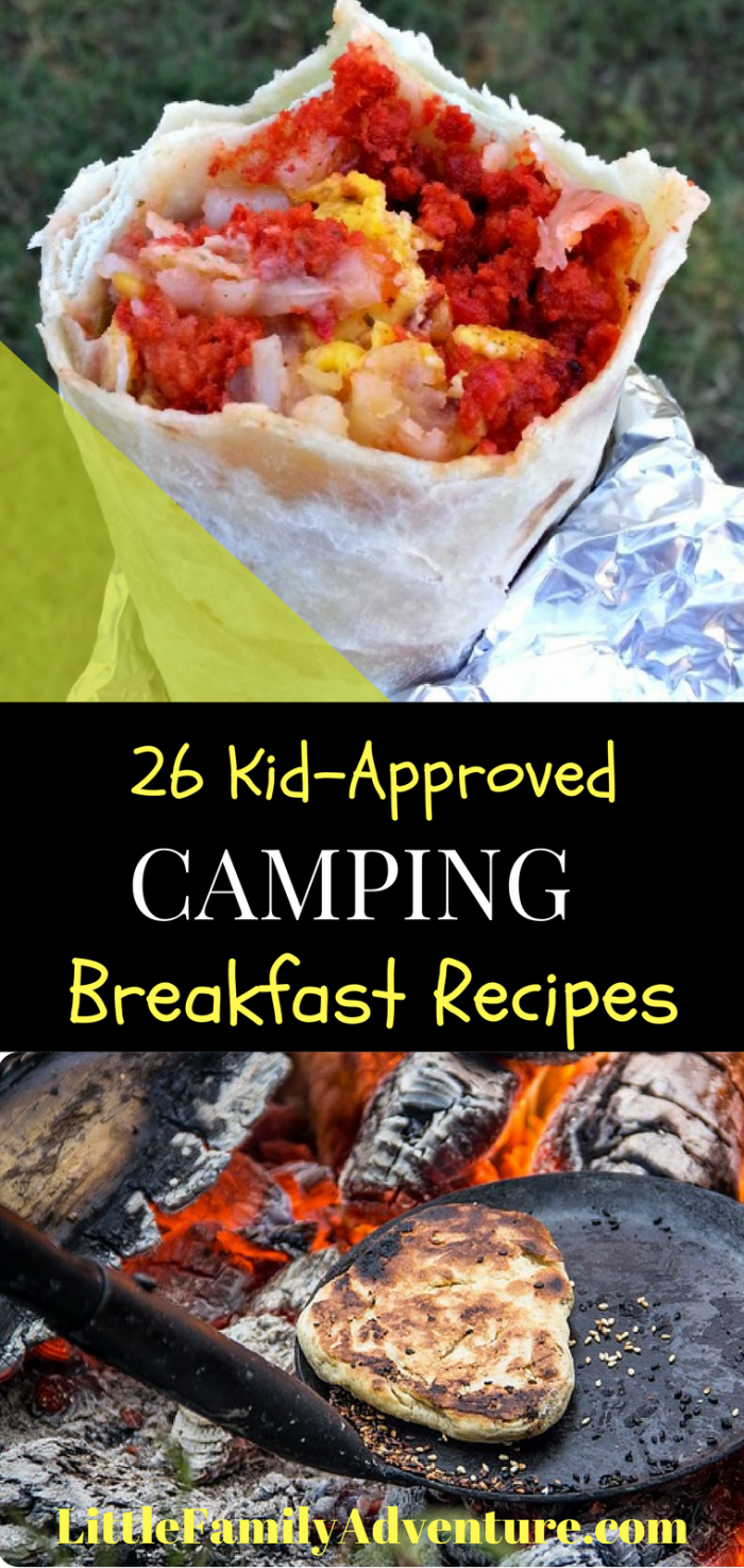 26 Kid Approved Breakfast Camping Recipes