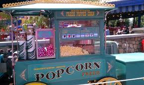 Popcorn stand at Disney World