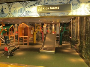 Flying with Young Children: Tips to Help You enjoy The Journey - Find a playground in the airport