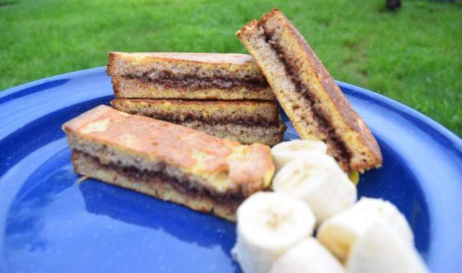 Chocolate Hazelnut French Toast