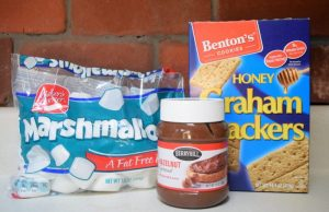 Hazelnut S'mores - Camping Food - A must have for any camping trip