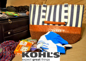 Kohl's has everything you need for your next family vacation