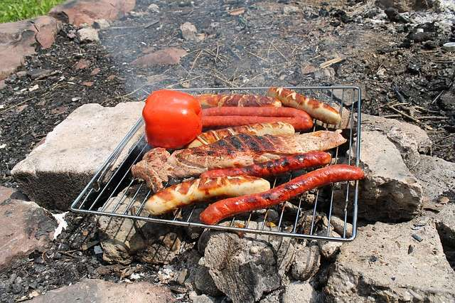 Camping Food Tip: Bring an oven rack or grill rack with you. You can use it to cook on over the or over a dirty campsite grill. - Find a tasty Meal Plan, Recipes, & more Tips for a Weekend Campout | Everything you need to cook great food on your next campout