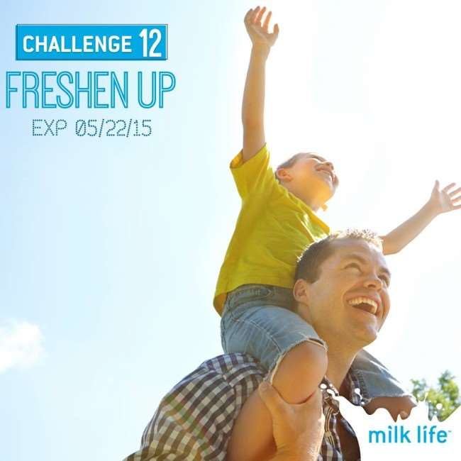 Live Life to Its Fullest - Take the Milk Like Challenge | #milklife #ad