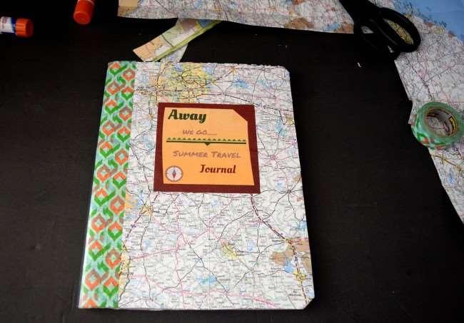 Summer Fun Tip: Keep it Memorable with a Summer Travel Journal #summercraft #familttravel #making memories