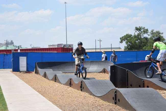 BMX Bike tracl