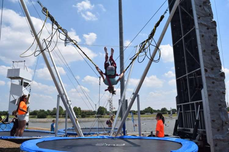 Extreme Jumping at RIVERSPORT Adventures