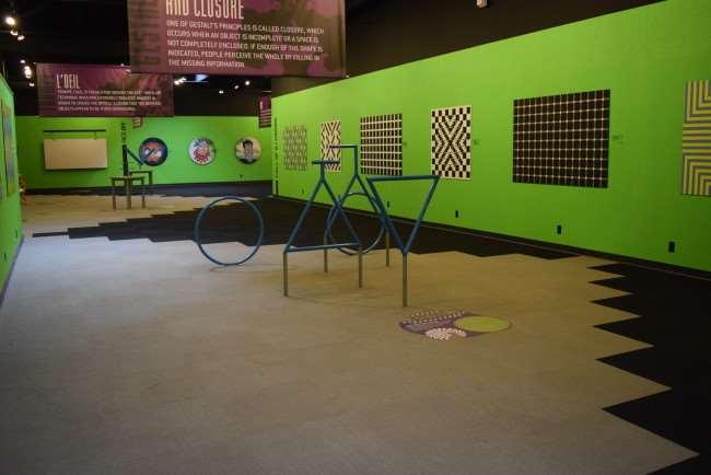 Science Museum Oklahoma - Mind Games exhibit