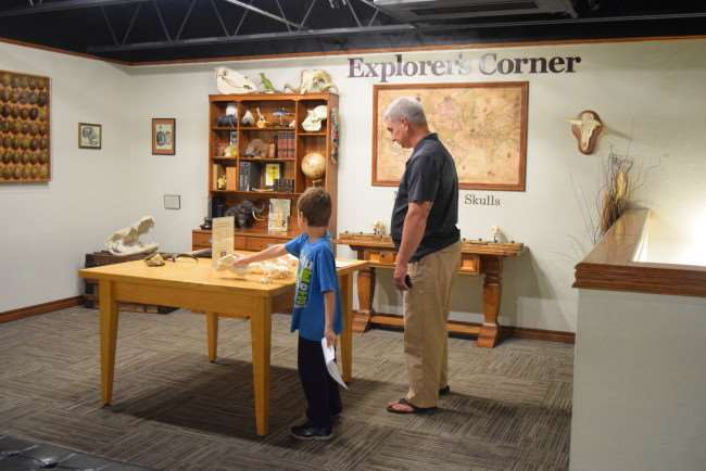 Hands On at the Museum of Osteology