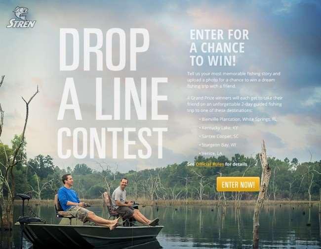 Drop a Line Contest #fishingformemories