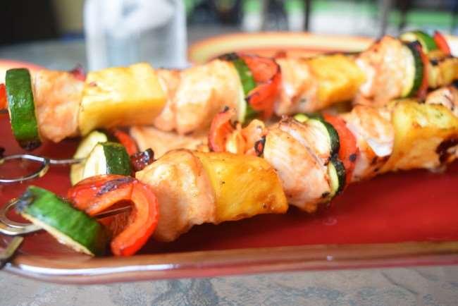 Teriyaki Chicken and Vegetable Skewers - Summer Clean Eating Meal Plan