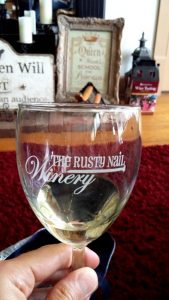 Ending a Long Day at the Rusty Nail Winery