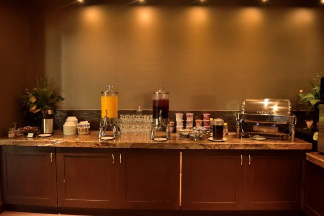 Breakfast Buffet at the Chickasaw Retreat and Conference Center