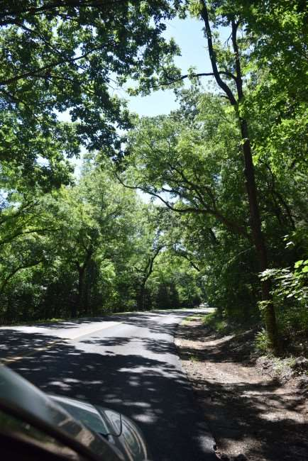 Driving through the Chickasaw National Recreation Area, one of the National Parks in Oklahoma. #FindYourPark #AdventureRoad