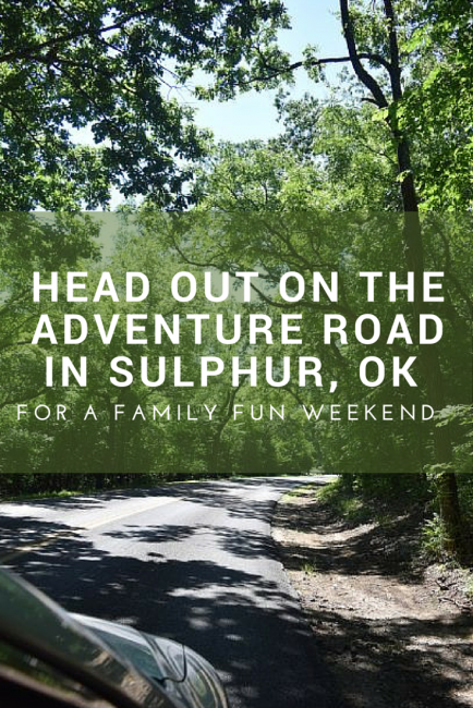 head out on Adventure Road in Sulphur, Oklahoma for a fun family weekend. Sulphur is between OKC and Dallas and is a great travel destination filled with unique events, destinations, and attractions. See the fun we had and find places you'll want to experience for yourself.