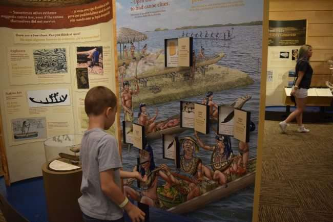 Get on the Adventure Road to the Chickasaw Cultural Center - Travel to Sulphur, Oklahoma to experience the history and culture of the Chickasaw people. It's a fun and educational vacation destination. - Get hands on and help dig out a canoe - The special dugout canoe exhibit was fun and educational
