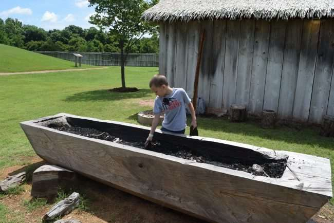 Get on the Adventure Road to the Chickasaw Cultural Center - Travel to Sulphur, Oklahoma to experience the history and culture of the Chickasaw people. It's a fun and educational vacation destination. - Get hands on and help dig out a canoe