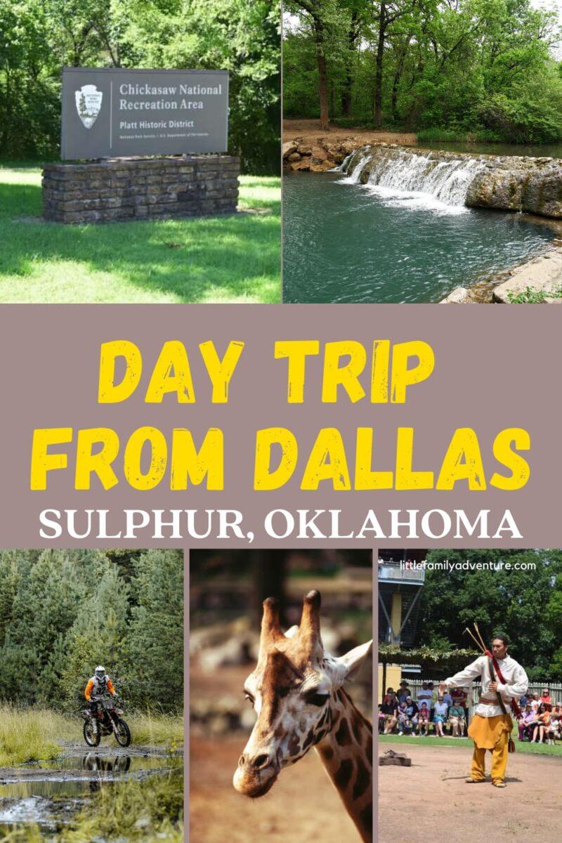 national park sign, waterfall, motorbike, giraffe, and man grahic