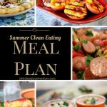 Summer Clean Eating Meal Plan