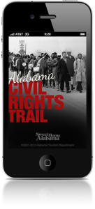 Civil Roghts Trail App - Alabama is a Great place for your nest family vacation