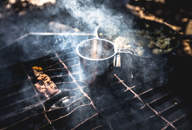 campfire cooking - planning a camping menu plan